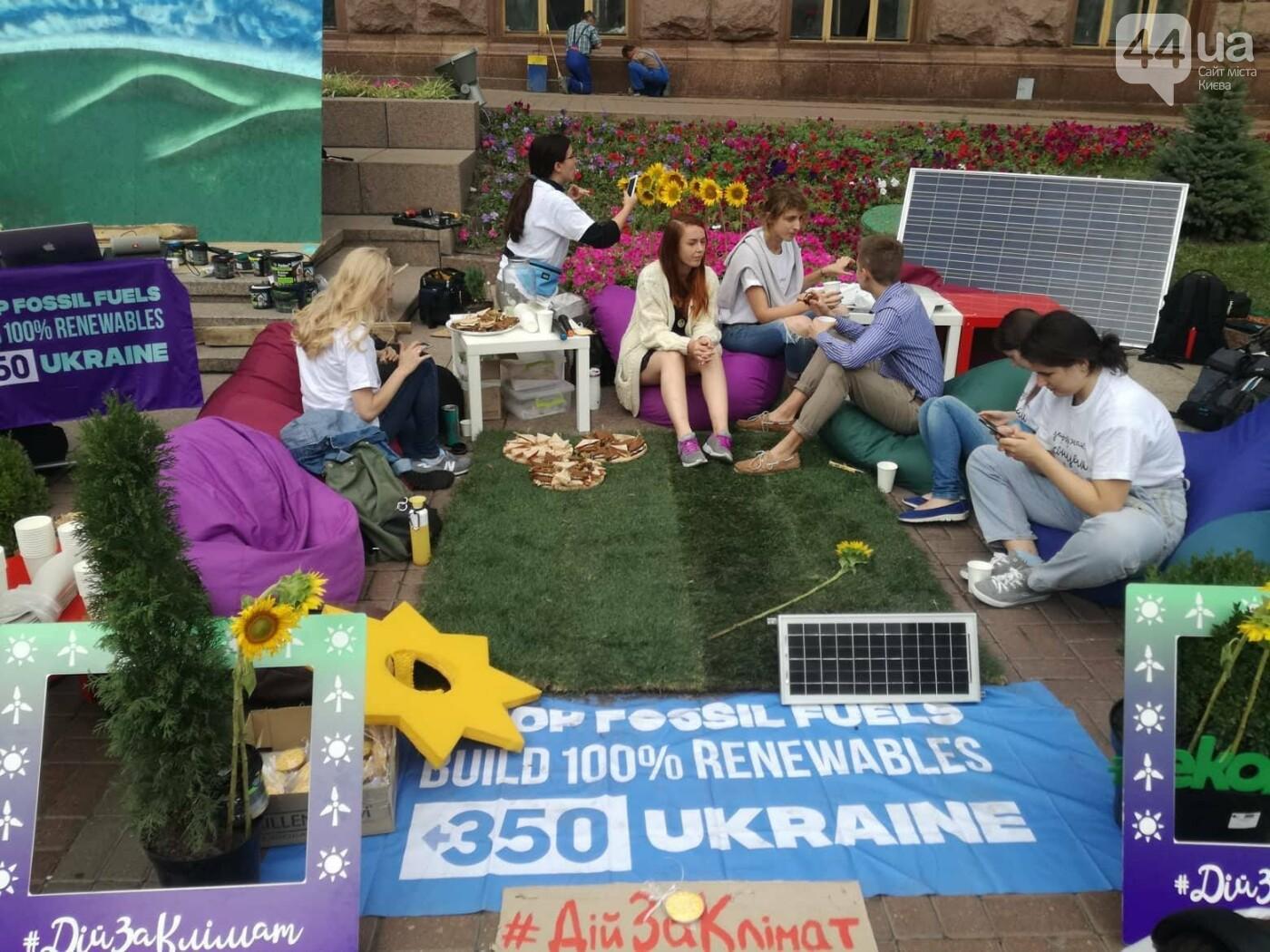 Включи солнце: в центре Киева проходит экологическая акция, - ФОТО, фото-5