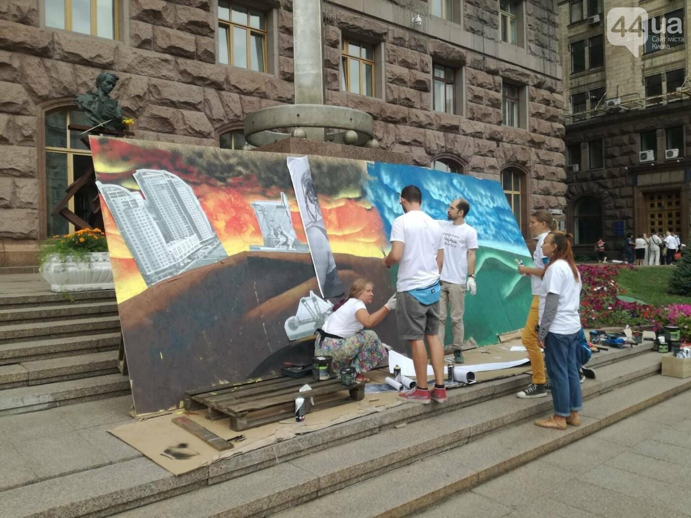 Включи солнце: в центре Киева проходит экологическая акция, - ФОТО, фото-4