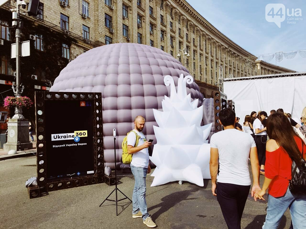 """Как на Крещатике прошел фестиваль """"Маркет языков"""", - ФОТООТЧЕТ, фото-14"""