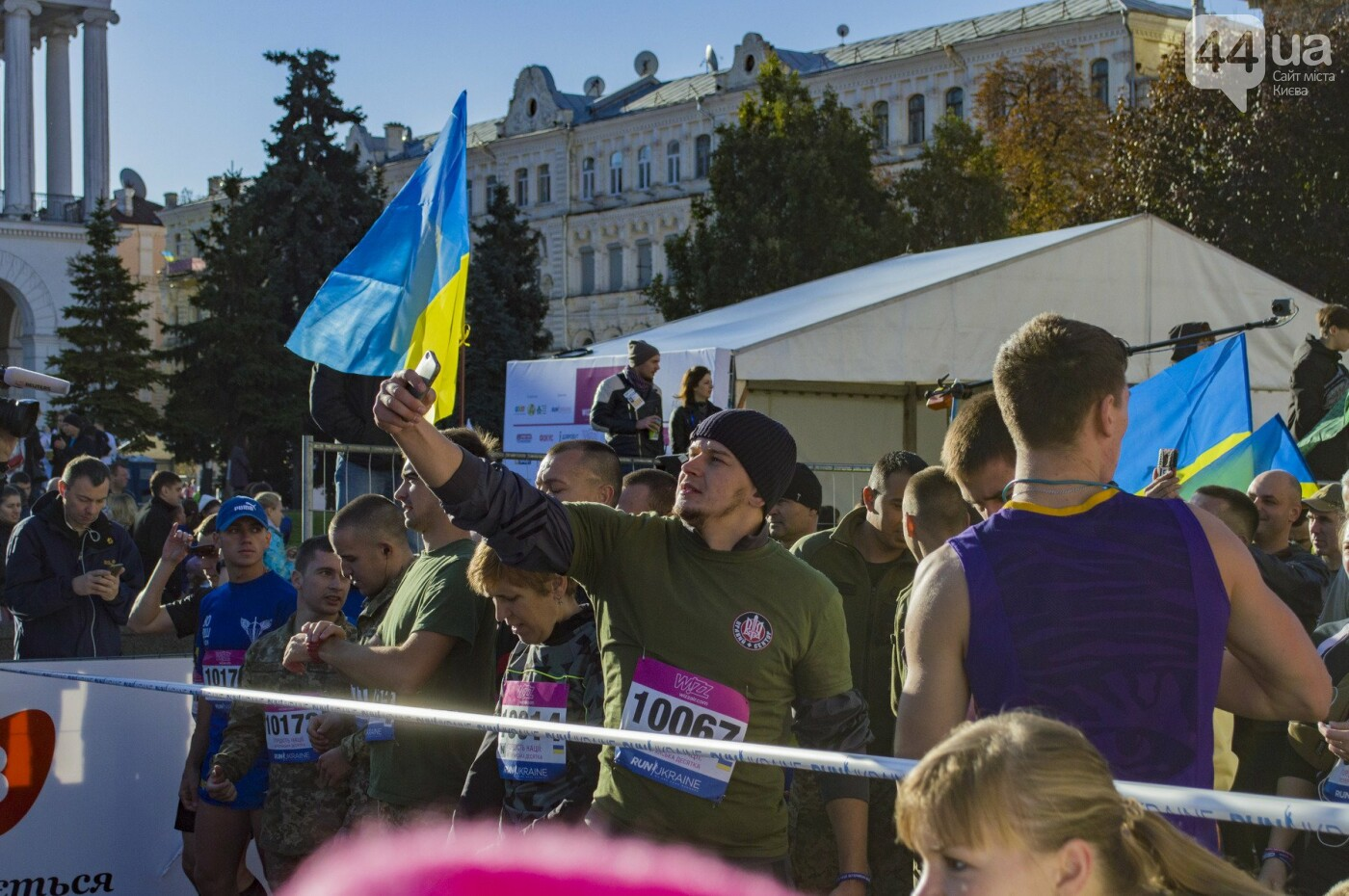 В центре Киева тысячи семей, детей и воинов АТО пробежали марафон, - ФОТОРЕПОРТАЖ, фото-11