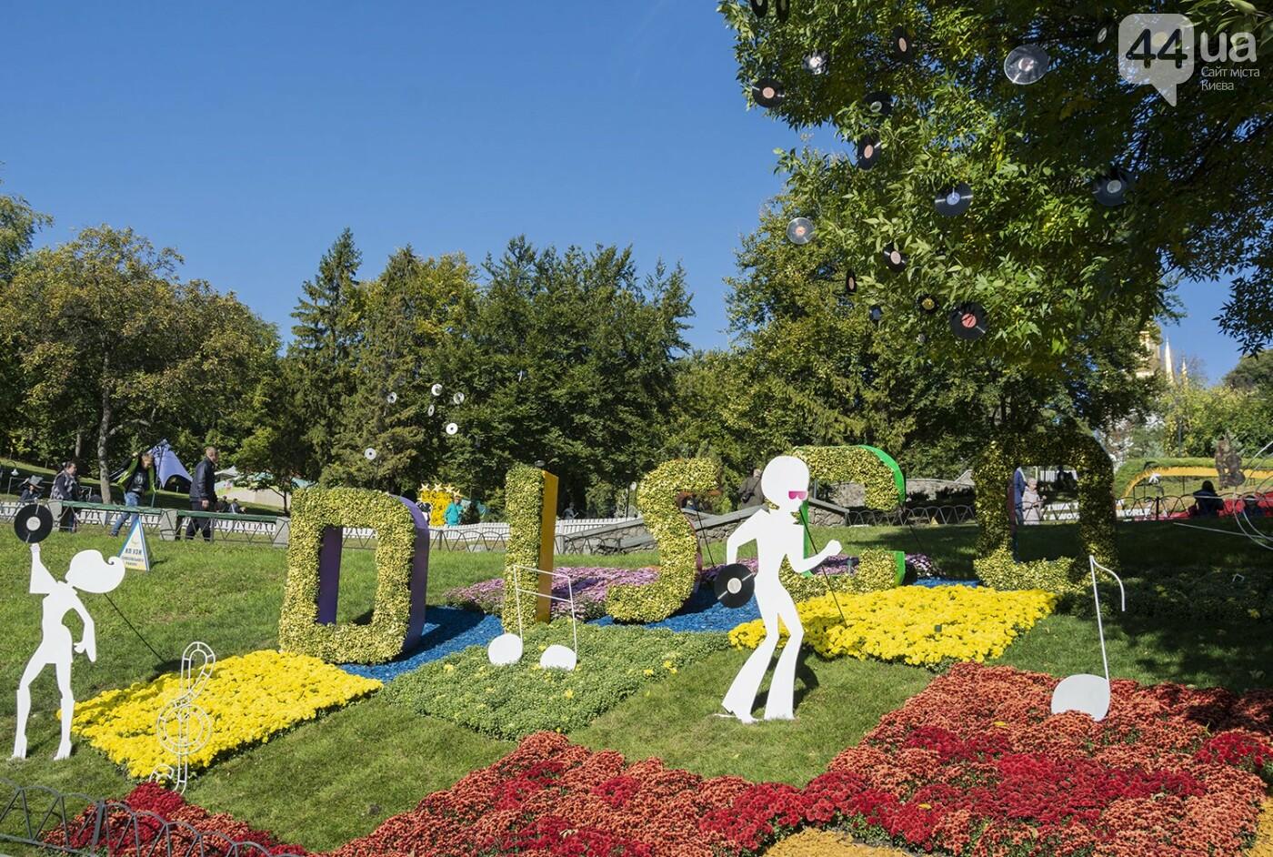 С музыкой и цветами: в Киеве стартовал красочный фестиваль хризантем, - ФОТОРЕПОРТАЖ, фото-18