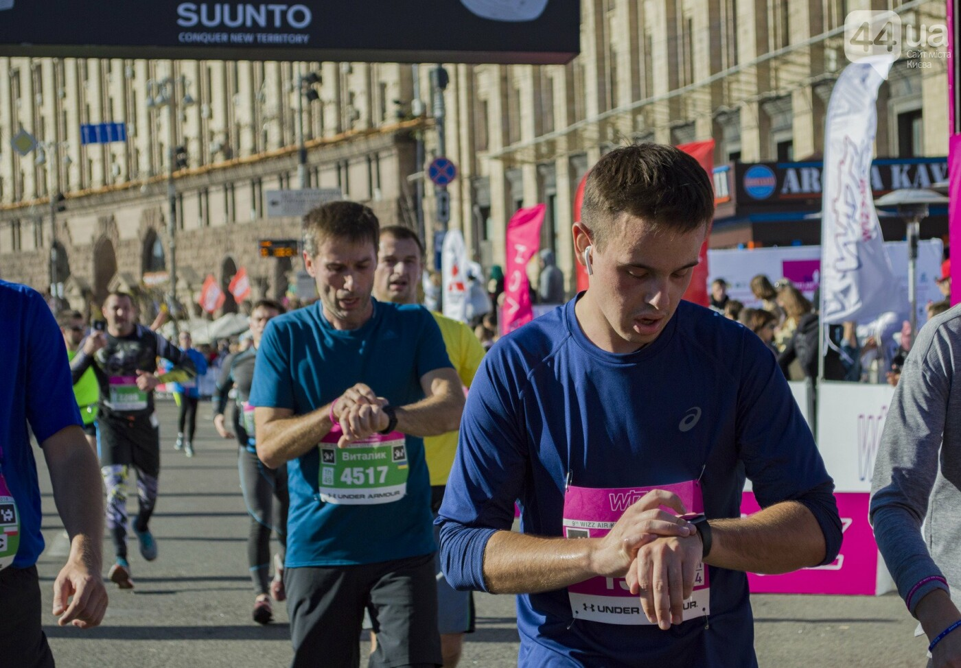В центре Киева тысячи семей, детей и воинов АТО пробежали марафон, - ФОТОРЕПОРТАЖ, фото-37