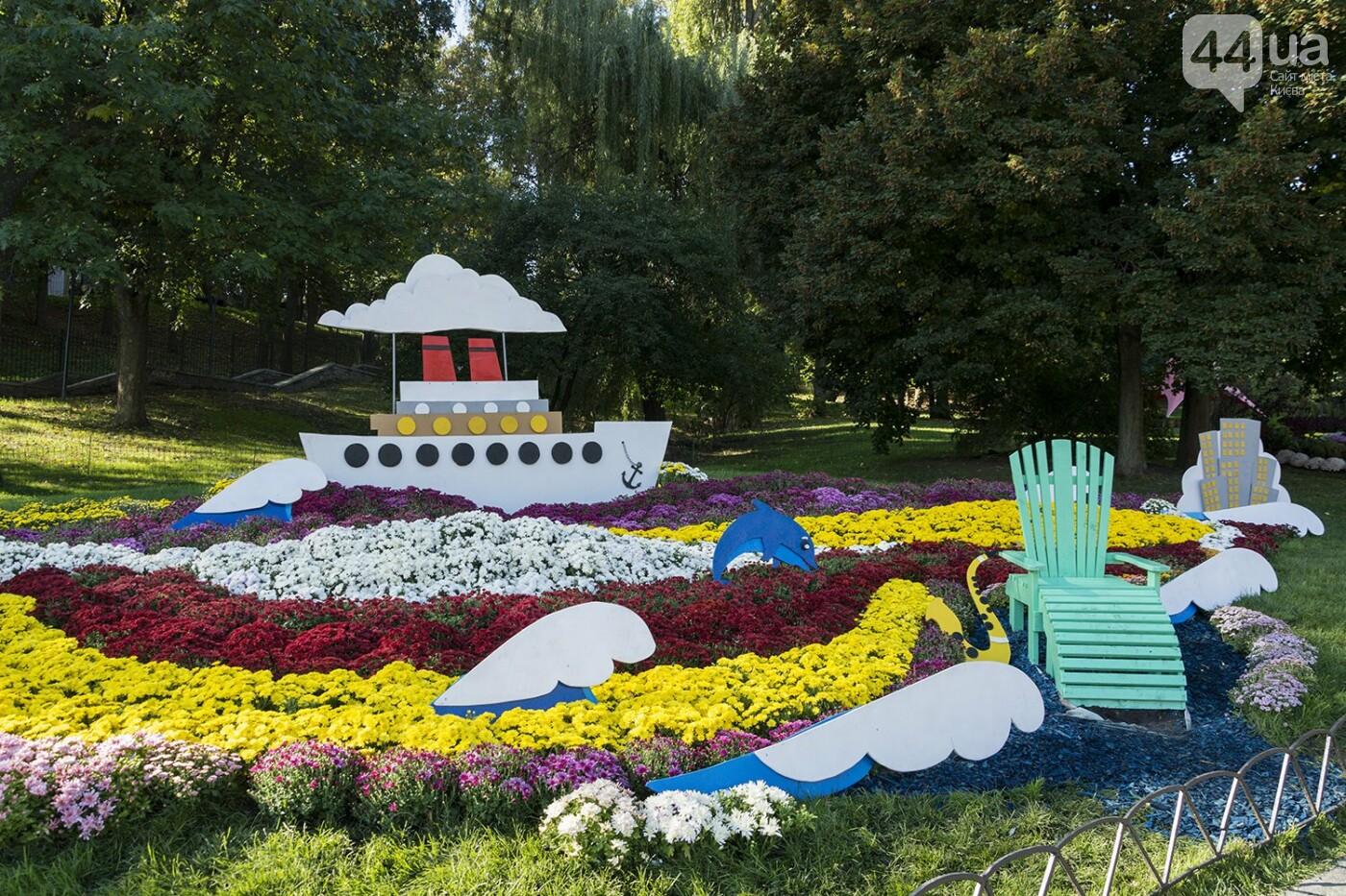 С музыкой и цветами: в Киеве стартовал красочный фестиваль хризантем, - ФОТОРЕПОРТАЖ, фото-2