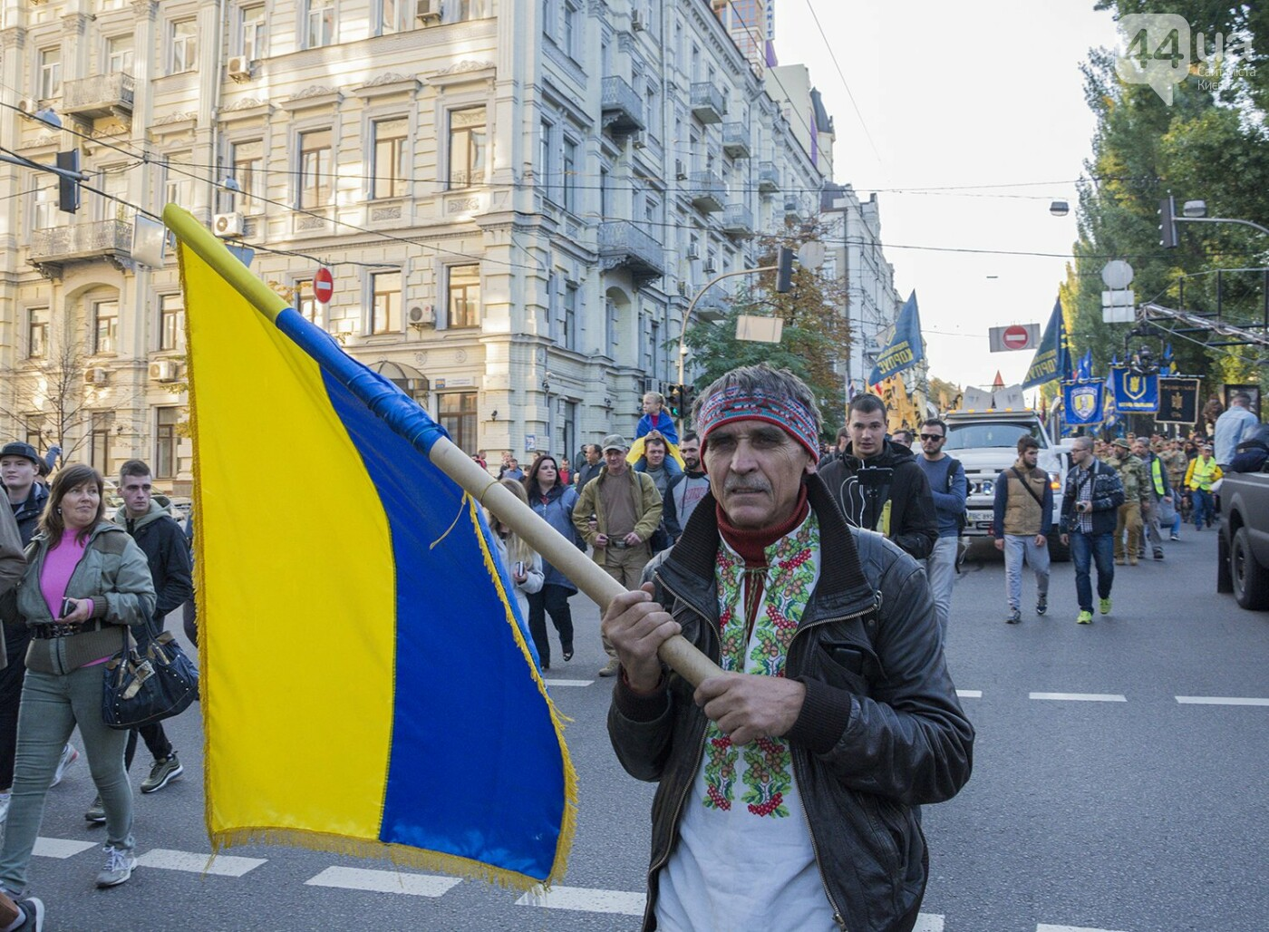 Файеры, Бандера и рекорды: в Киеве прошел традиционный марш УПА, - ФОТОРЕПОРТАЖ, фото-14