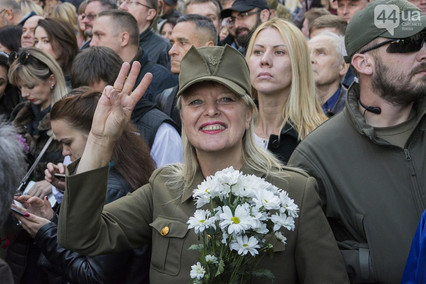 Файеры, Бандера и рекорды: в Киеве прошел традиционный марш УПА, - ФОТОРЕПОРТАЖ, фото-17
