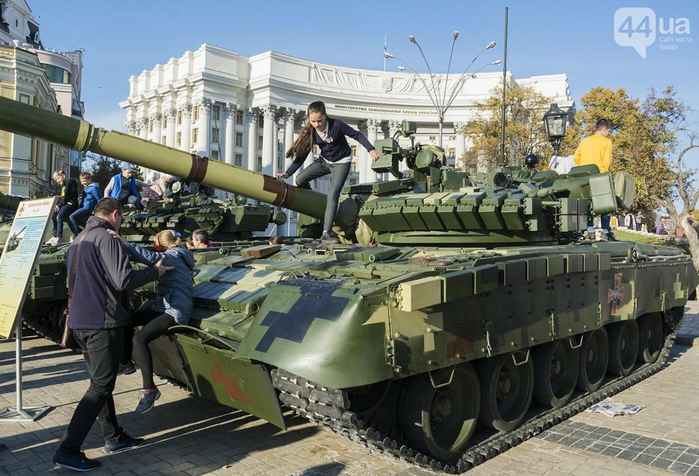 В Киеве открылась масштабная выставка военной техники – ФОТОРЕПОРТАЖ, фото-18