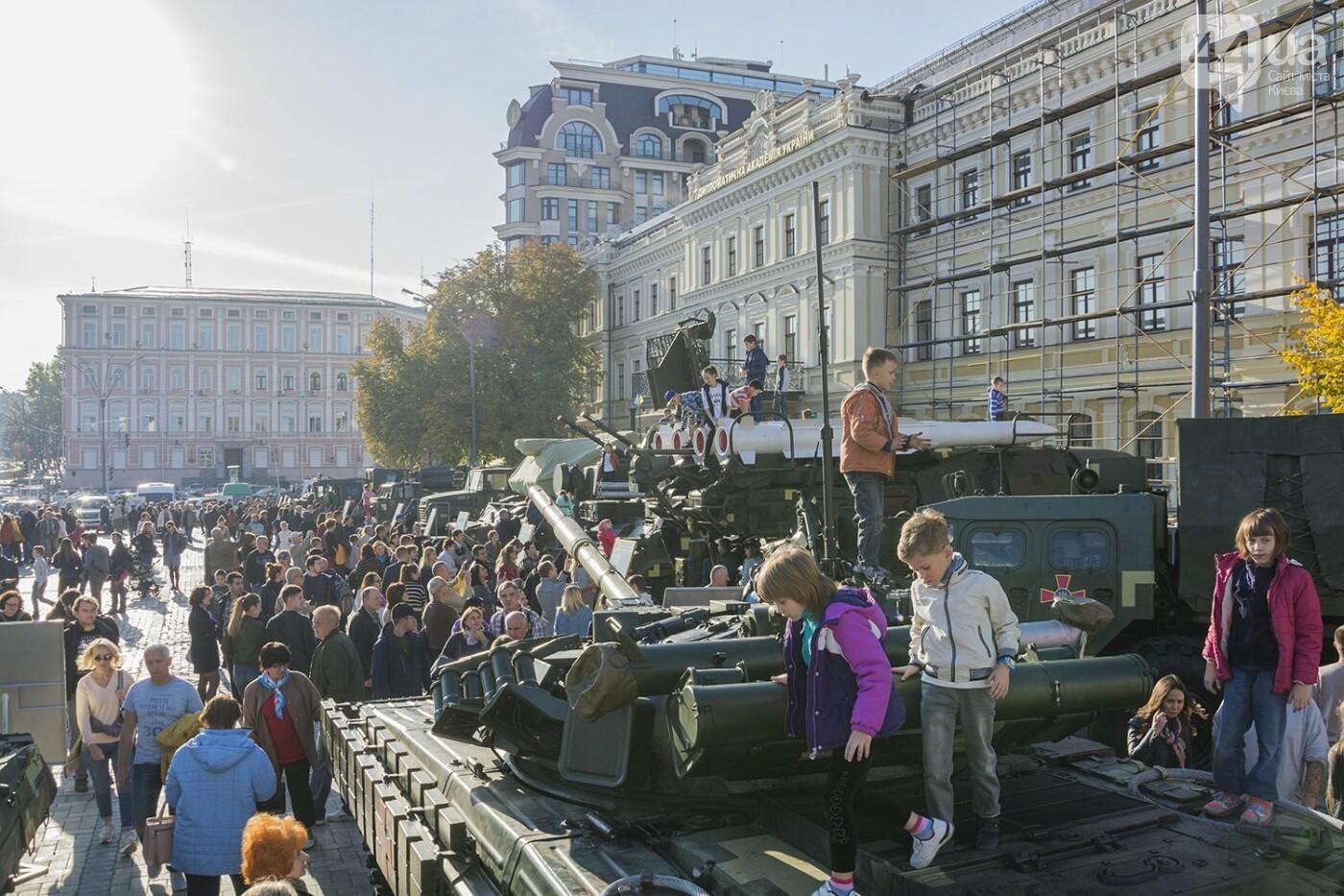 В Киеве открылась масштабная выставка военной техники – ФОТОРЕПОРТАЖ, фото-30