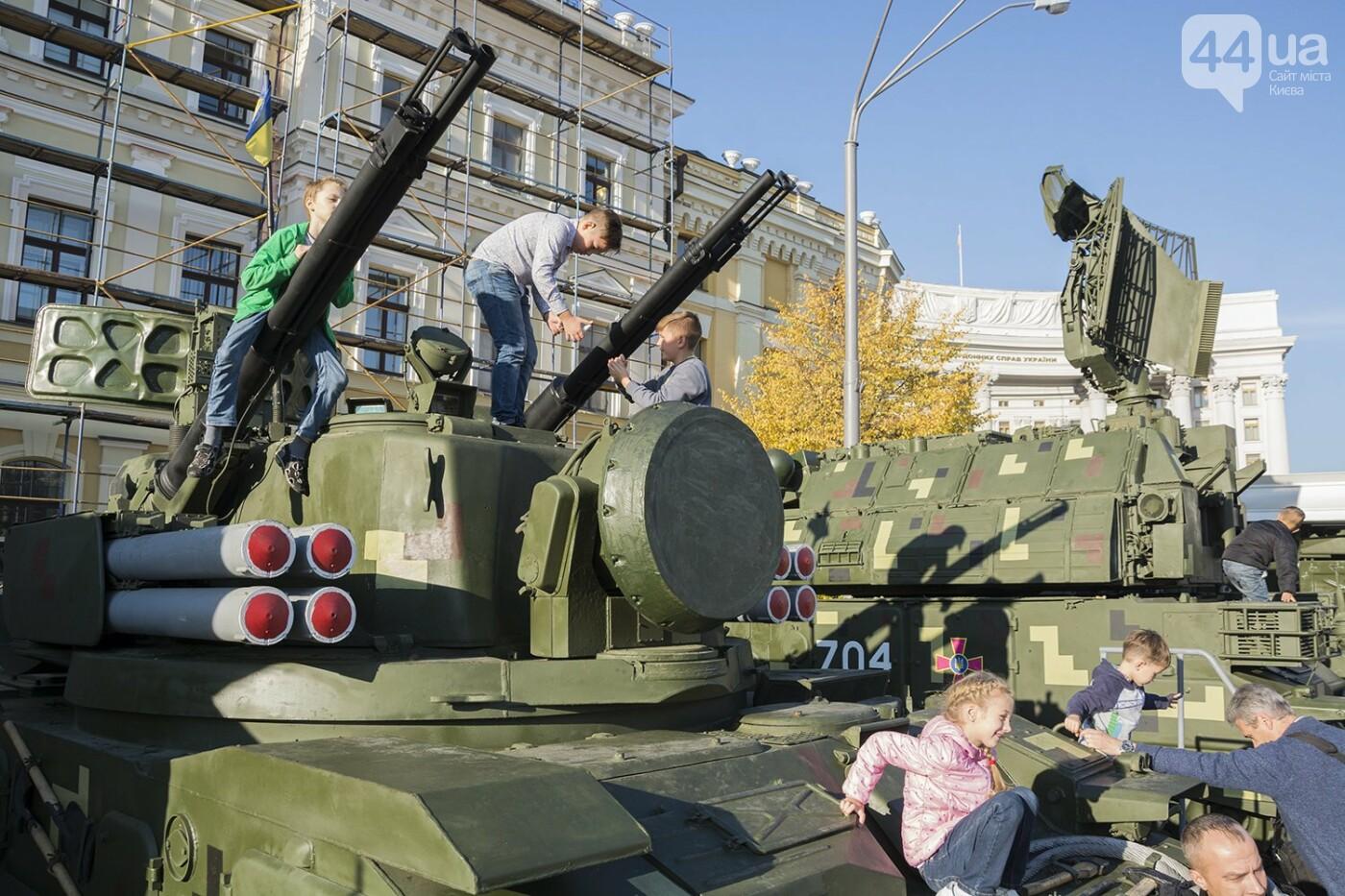 В Киеве открылась масштабная выставка военной техники – ФОТОРЕПОРТАЖ, фото-25
