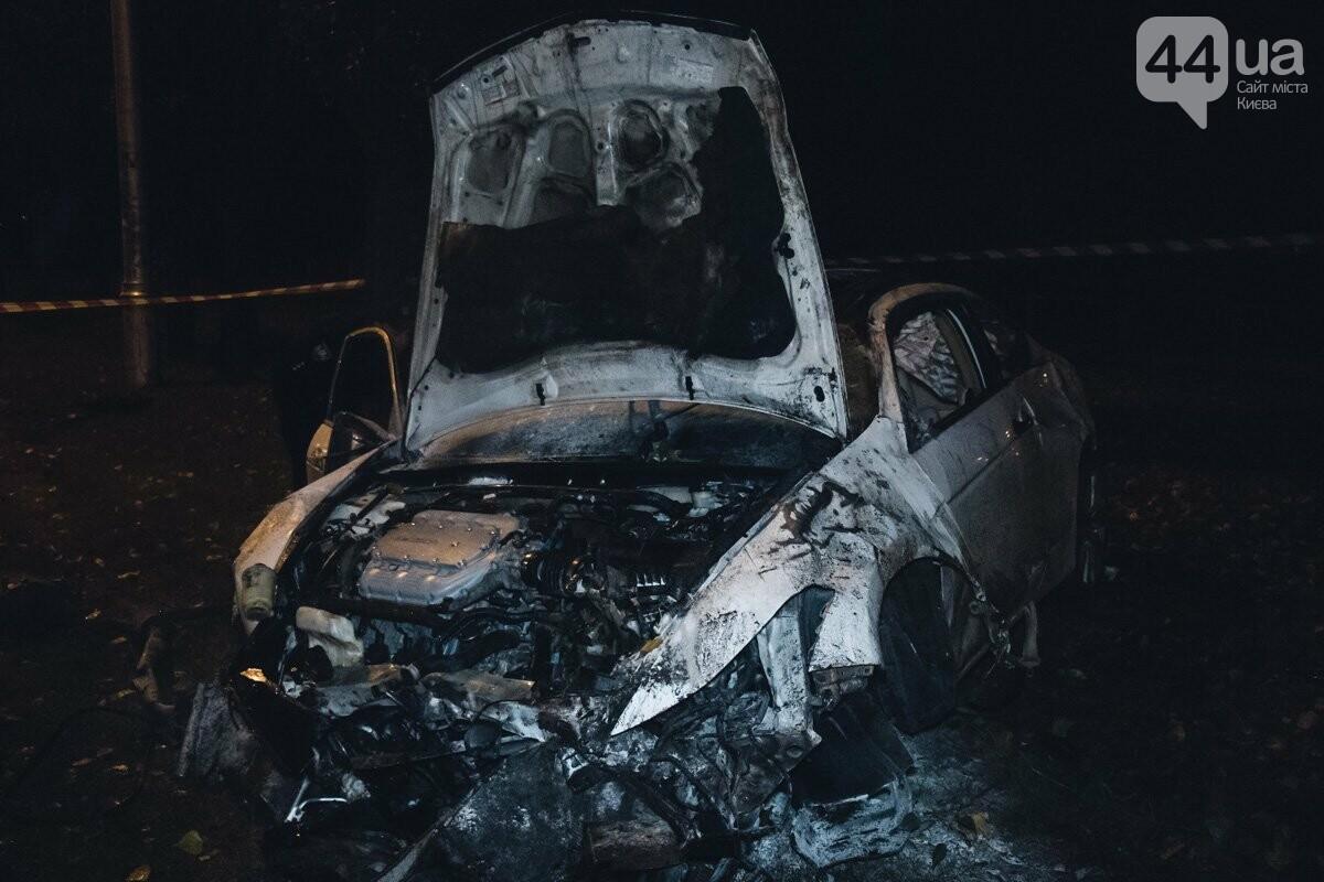 Honda c четырьмя людьми перевернулась, столкнулась с деревьями и загорелась, - ФОТО, ВИДЕО, фото-2