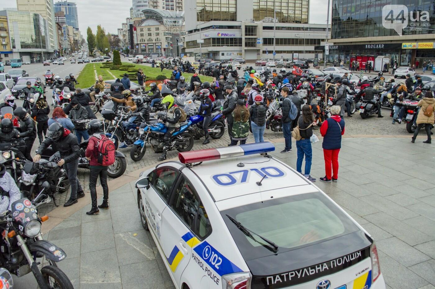 """От Бэтмена до ведьм: как """"нечисть"""" разъезжала на мотоциклах по центру Киева, фото-8"""