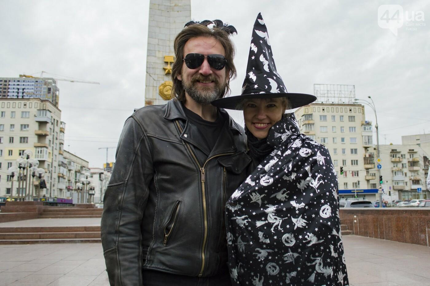"""От Бэтмена до ведьм: как """"нечисть"""" разъезжала на мотоциклах по центру Киева, фото-9"""