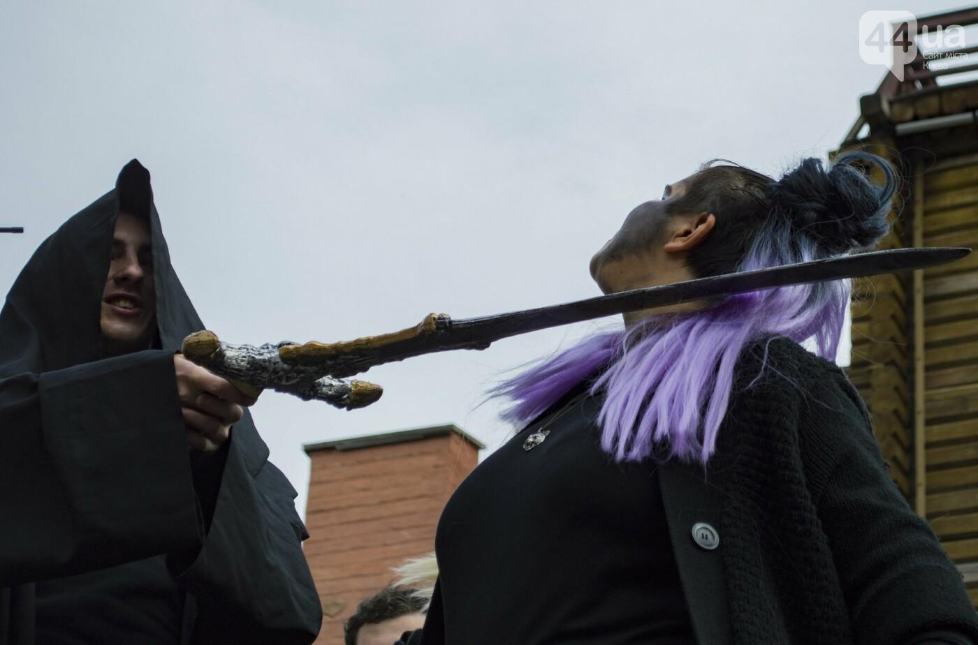 В центре Киева прошел зомби-парад: как это было, фото-11