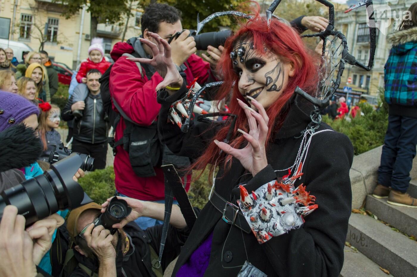 В центре Киева прошел зомби-парад: как это было, фото-7