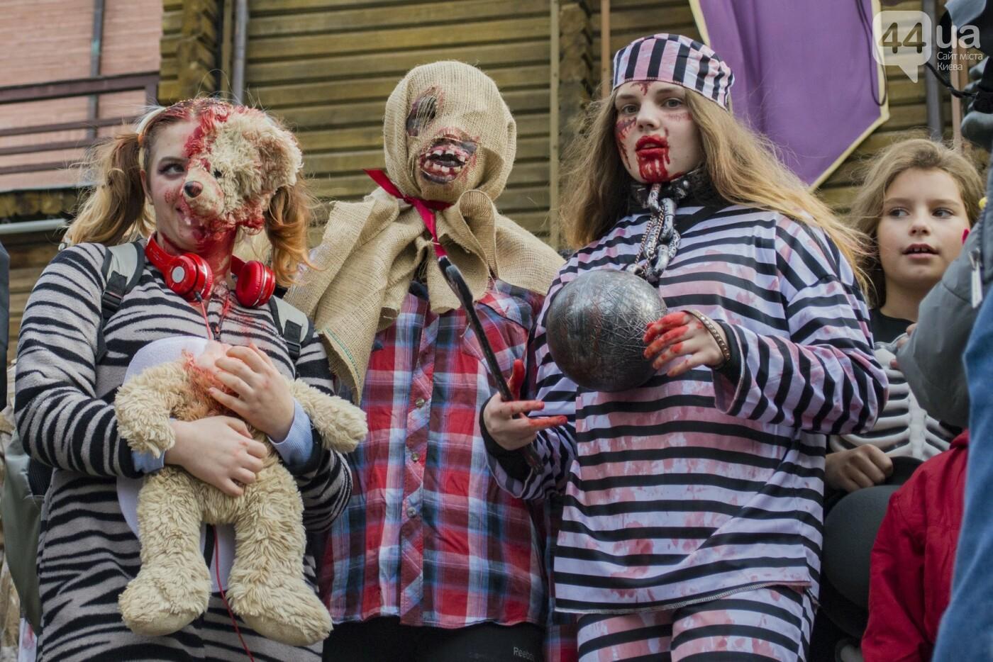 В центре Киева прошел зомби-парад: как это было, фото-3