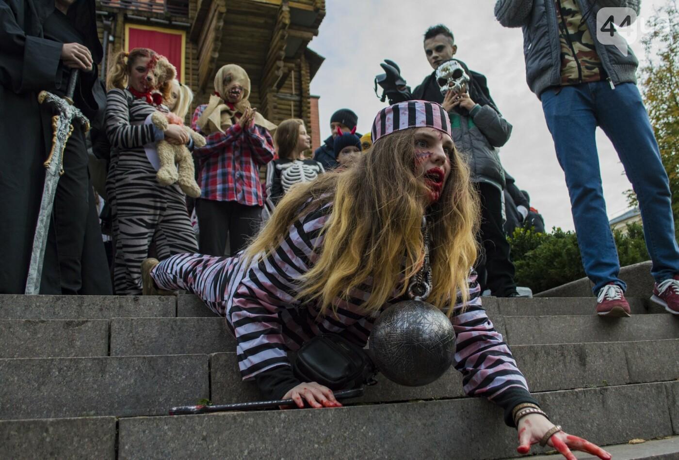 В центре Киева прошел зомби-парад: как это было, фото-4
