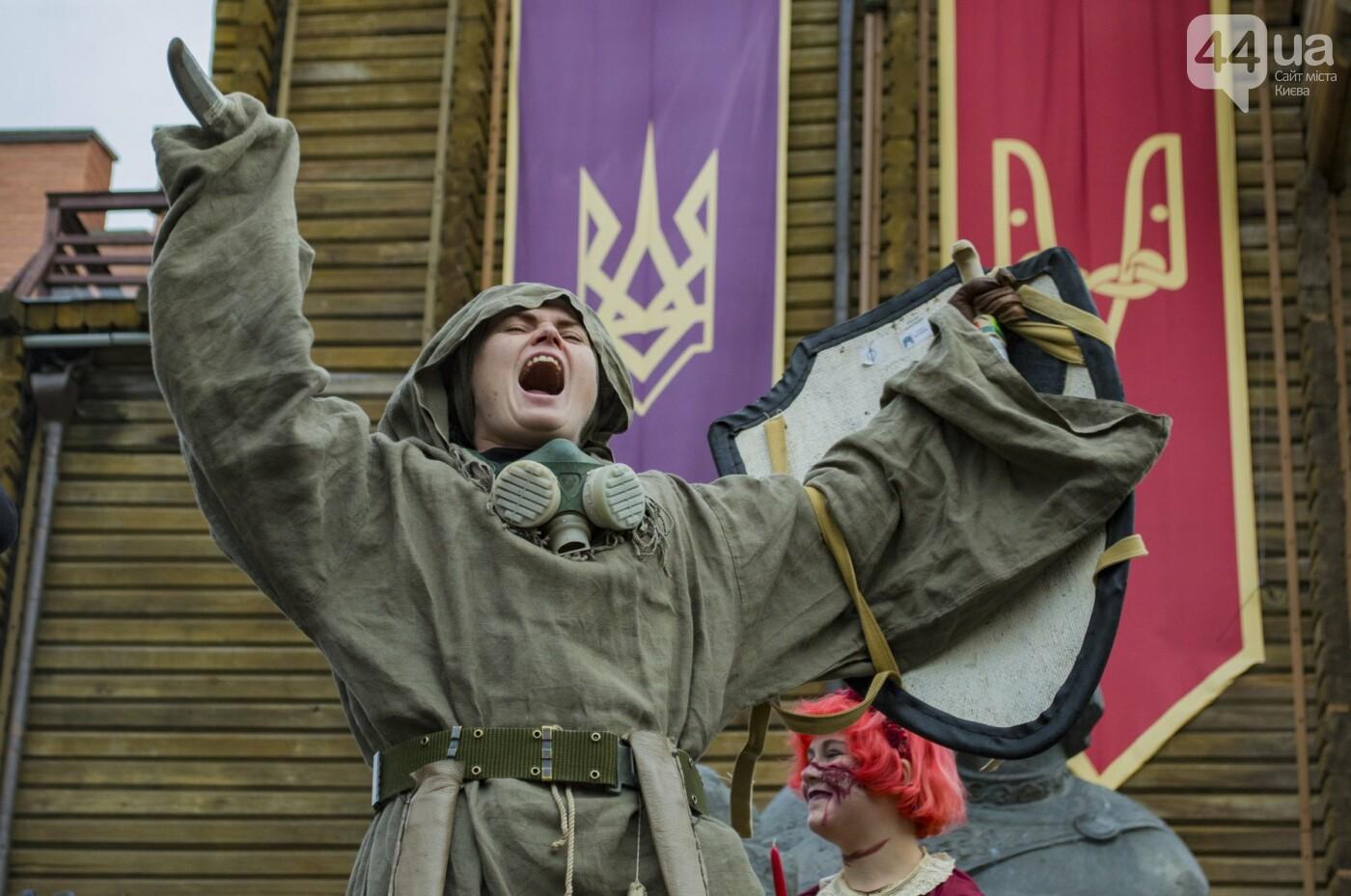 В центре Киева прошел зомби-парад: как это было, фото-16