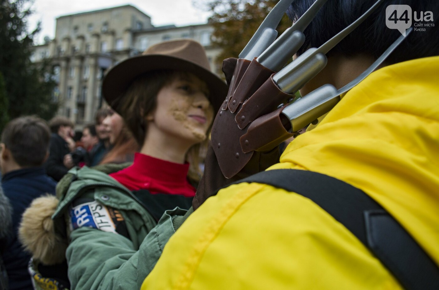 В центре Киева прошел зомби-парад: как это было, фото-9