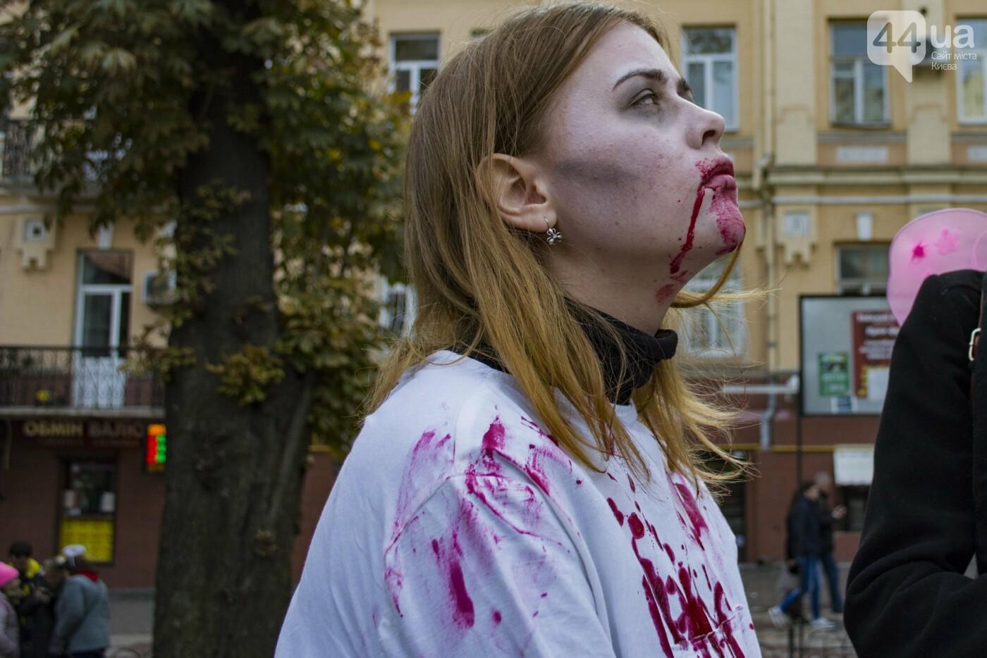В центре Киева прошел зомби-парад: как это было, фото-5