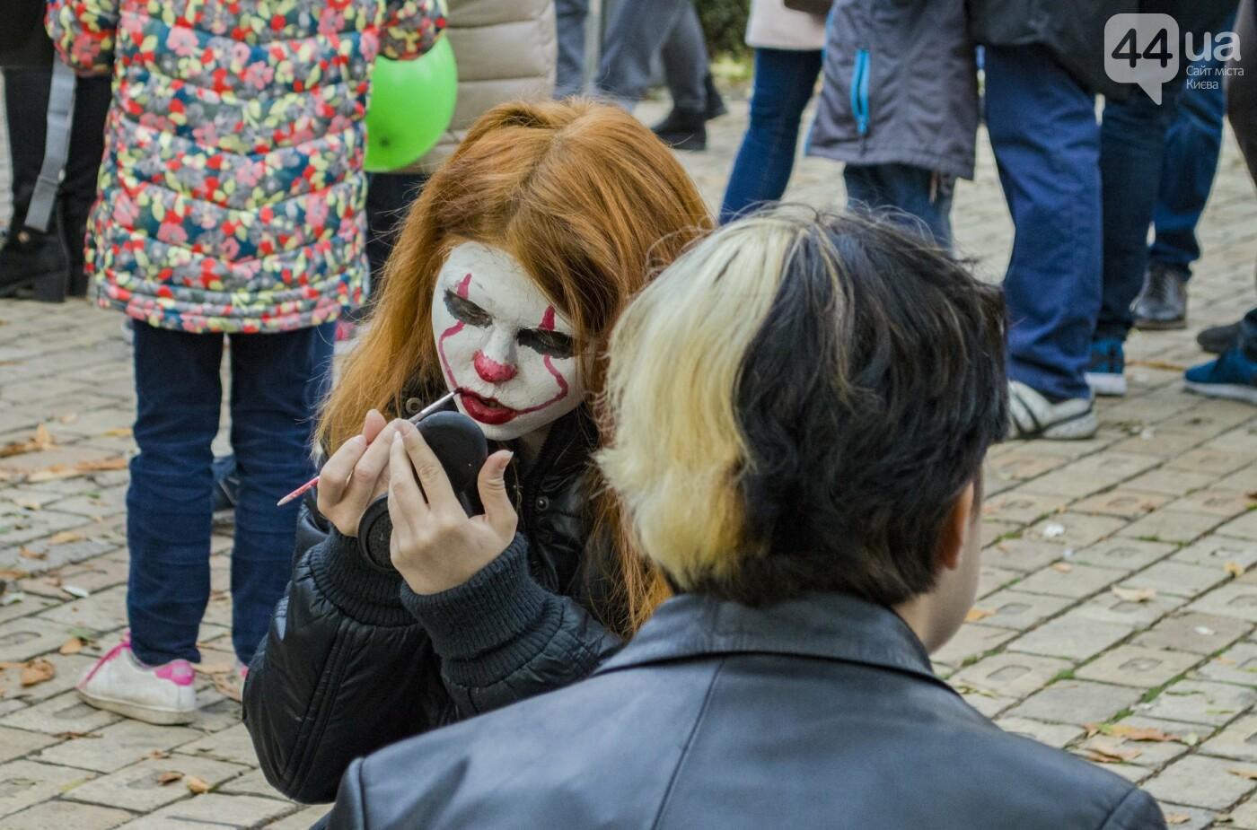 В центре Киева прошел зомби-парад: как это было, фото-10