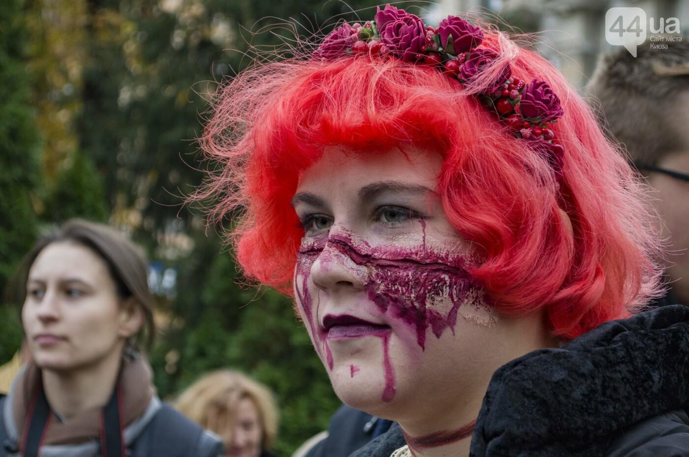 В центре Киева прошел зомби-парад: как это было, фото-15