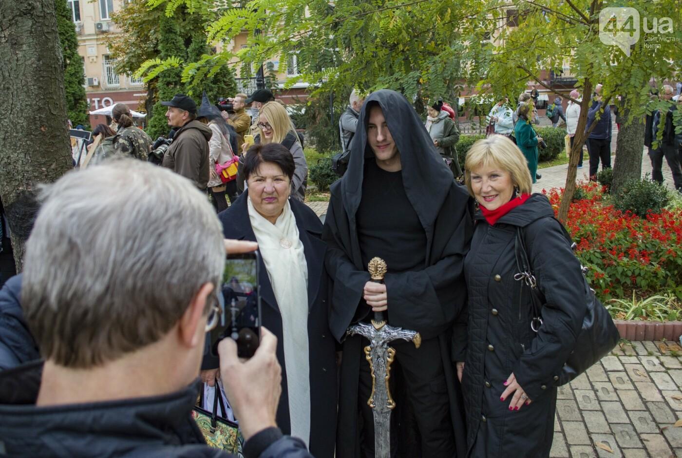 В центре Киева прошел зомби-парад: как это было, фото-14