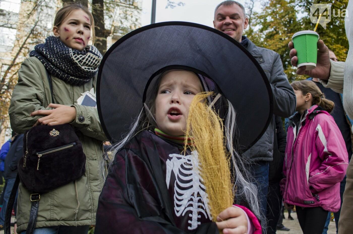 В центре Киева прошел зомби-парад: как это было, фото-6