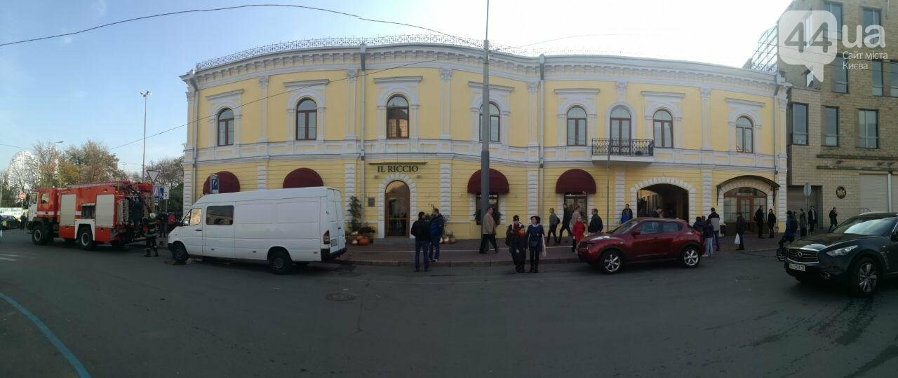 На Контрактовой площади произошел пожар, - ФОТО, ВИДЕО, фото-2