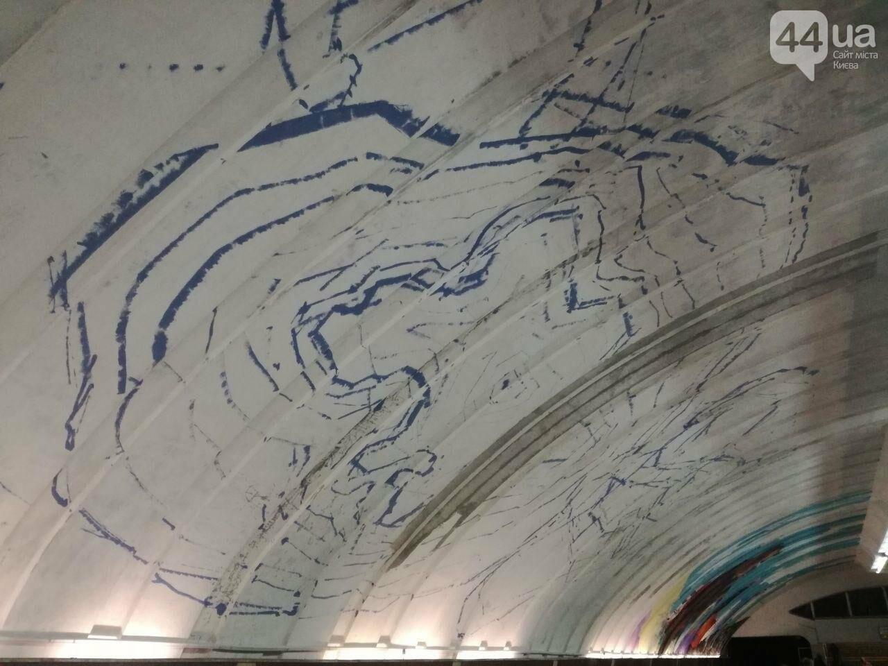 Арт-Осокорки: в столичном метро на мурале появился Ступка, фото-3