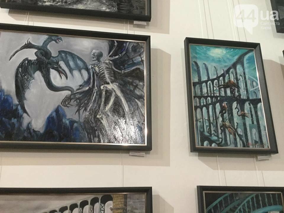 От котиков до драконов: в Киеве открылась художественная выставка «Мгновения красоты», - ФОТО, ВИДЕО, фото-3