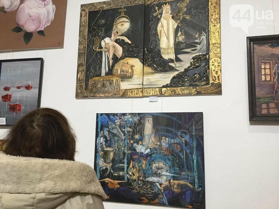 От котиков до драконов: в Киеве открылась художественная выставка «Мгновения красоты», - ФОТО, ВИДЕО, фото-14