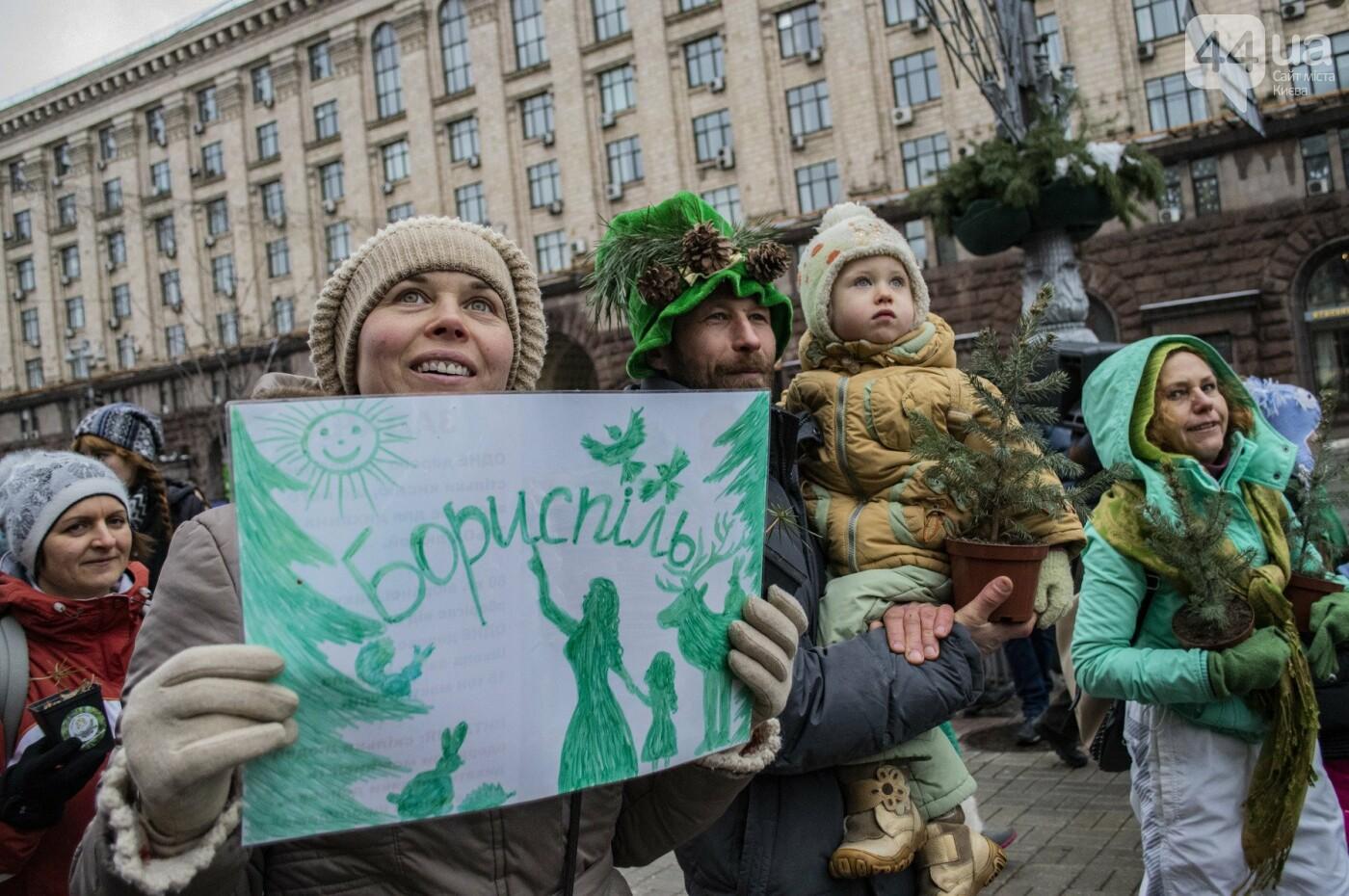 По Киеву прошли зеленые Деды Морозы и Снегурочки, - ФОТОРЕПОРТАЖ, фото-15