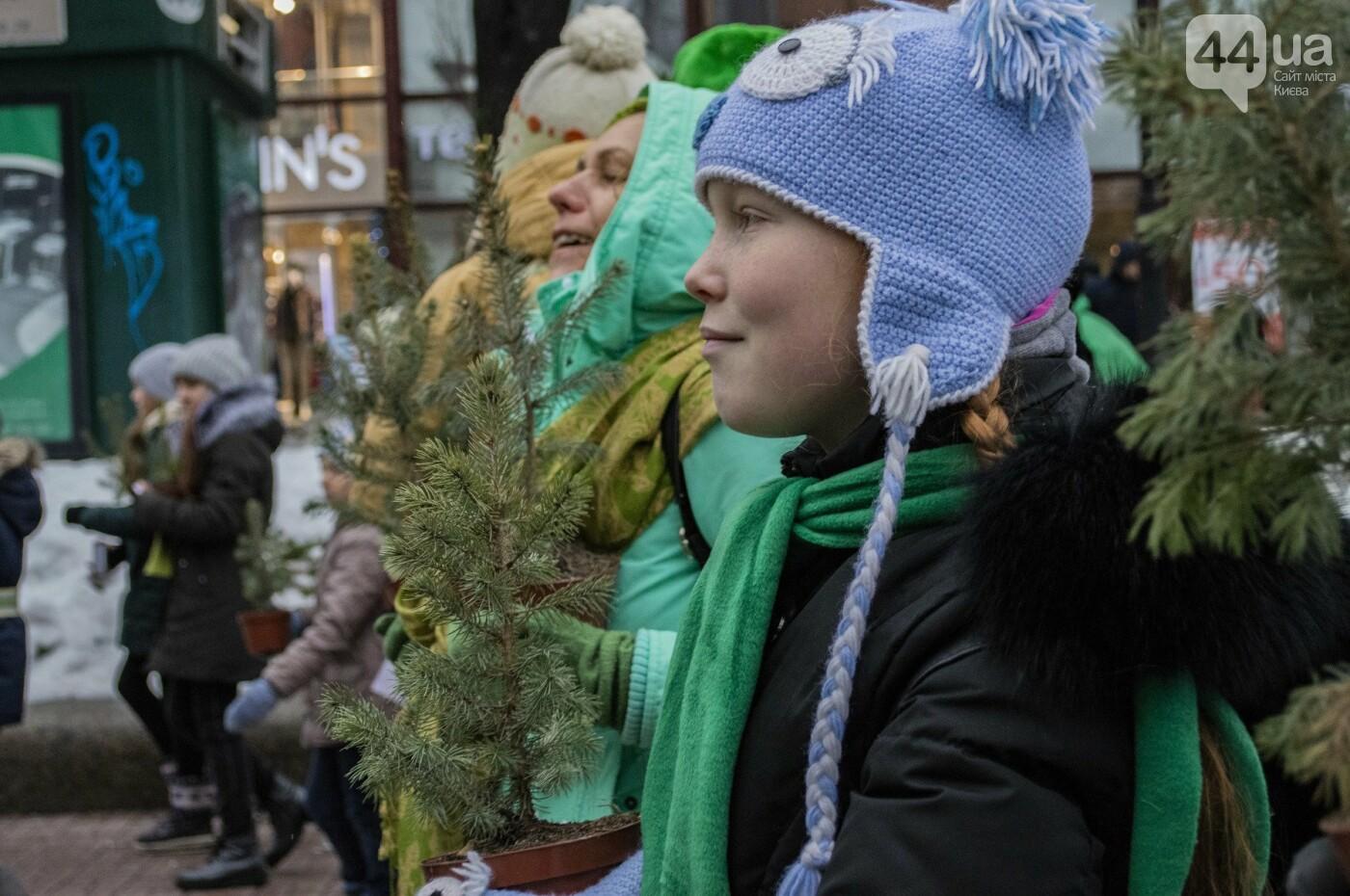 По Киеву прошли зеленые Деды Морозы и Снегурочки, - ФОТОРЕПОРТАЖ, фото-16