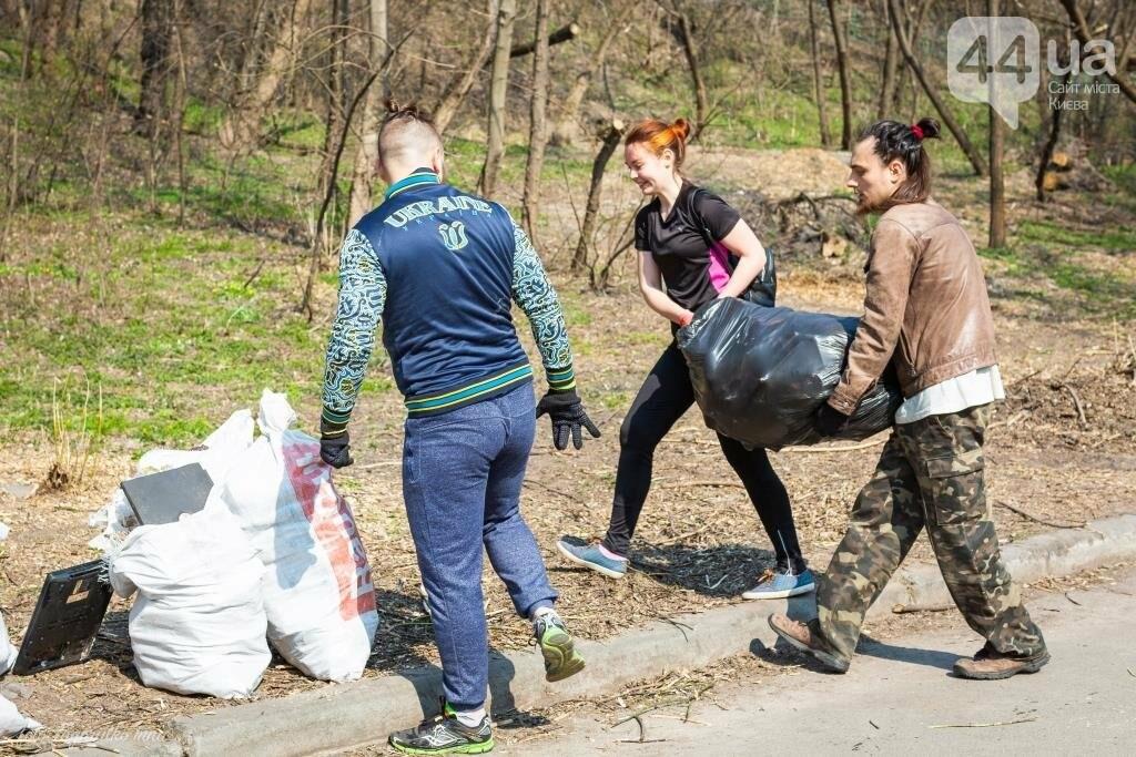 Киевляне устроили пробежку с мусорными пакетами , фото-4