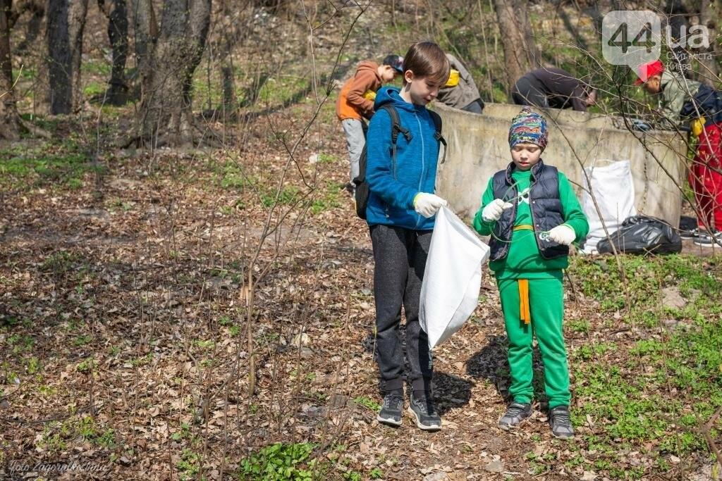Киевляне устроили пробежку с мусорными пакетами , фото-5