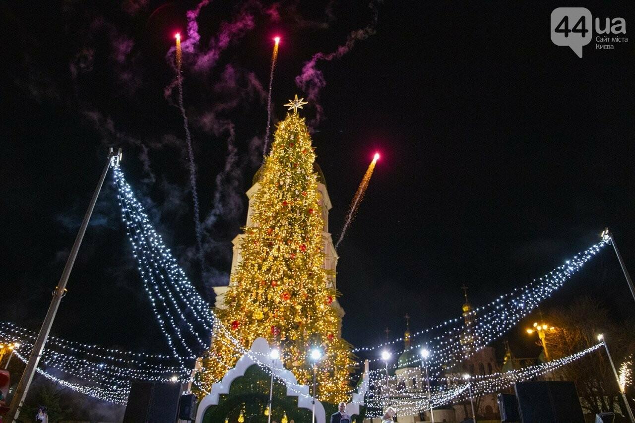 В центре Киева зажгли новогоднюю ёлку: как это было, - ФОТО, фото-6