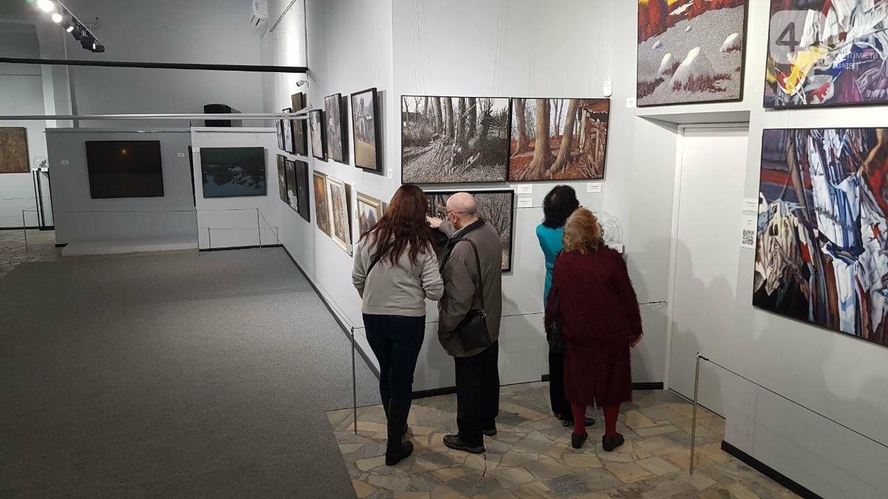 Открытие выставки Марчука