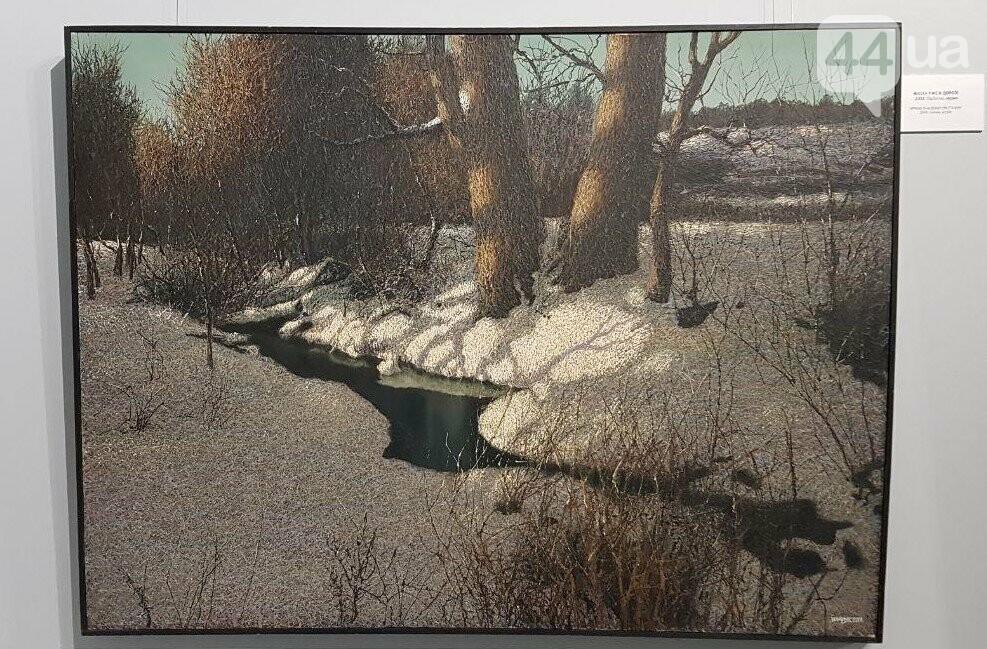 """Утренние заморозки"", акрил, 2004"