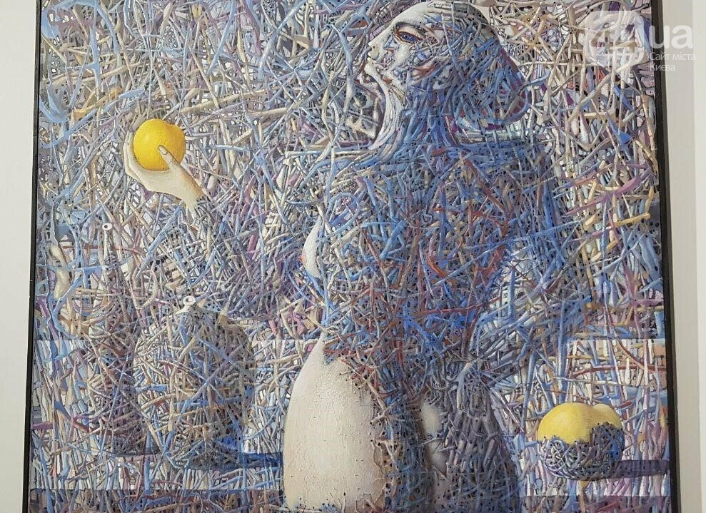 """Ева"", акрил, 1993 год"