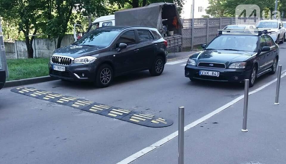 В Киеве изменили схему движения на Гарматной, - ФОТО, фото-2, Фото Центра организации дорожного движения