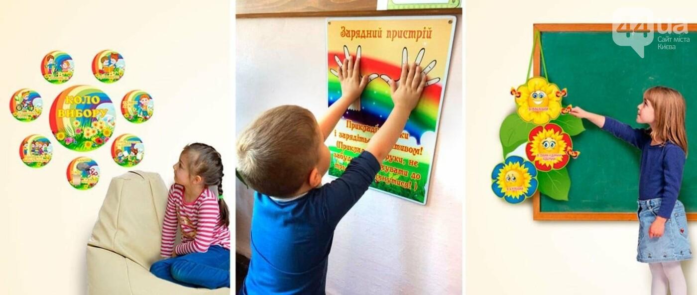 Сучасне оформлення школи 7 зон, навчальні осередки НУШ, фото-11