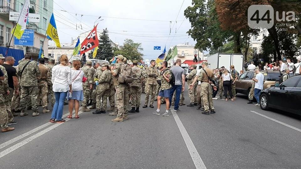 В Киеве начался марш ветеранов - ВИДЕО, фото-4
