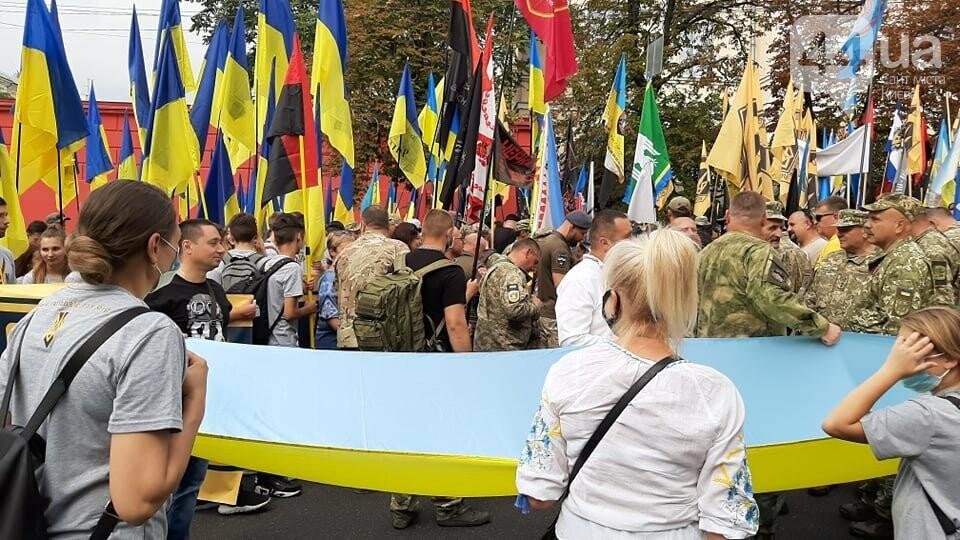 В Киеве начался марш ветеранов - ВИДЕО, фото-1