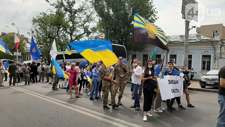 В Киеве начался марш ветеранов - ВИДЕО, фото-3