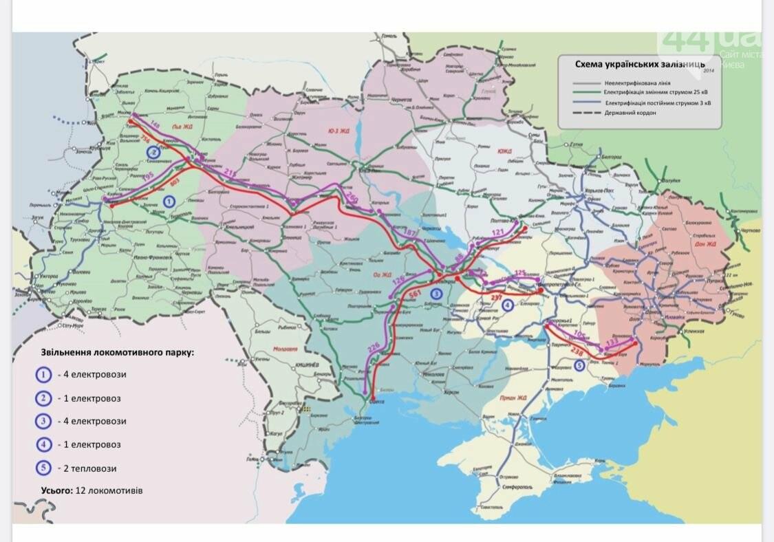 В Украине создают специальную карту движения поездов в реальном времени , фото-1