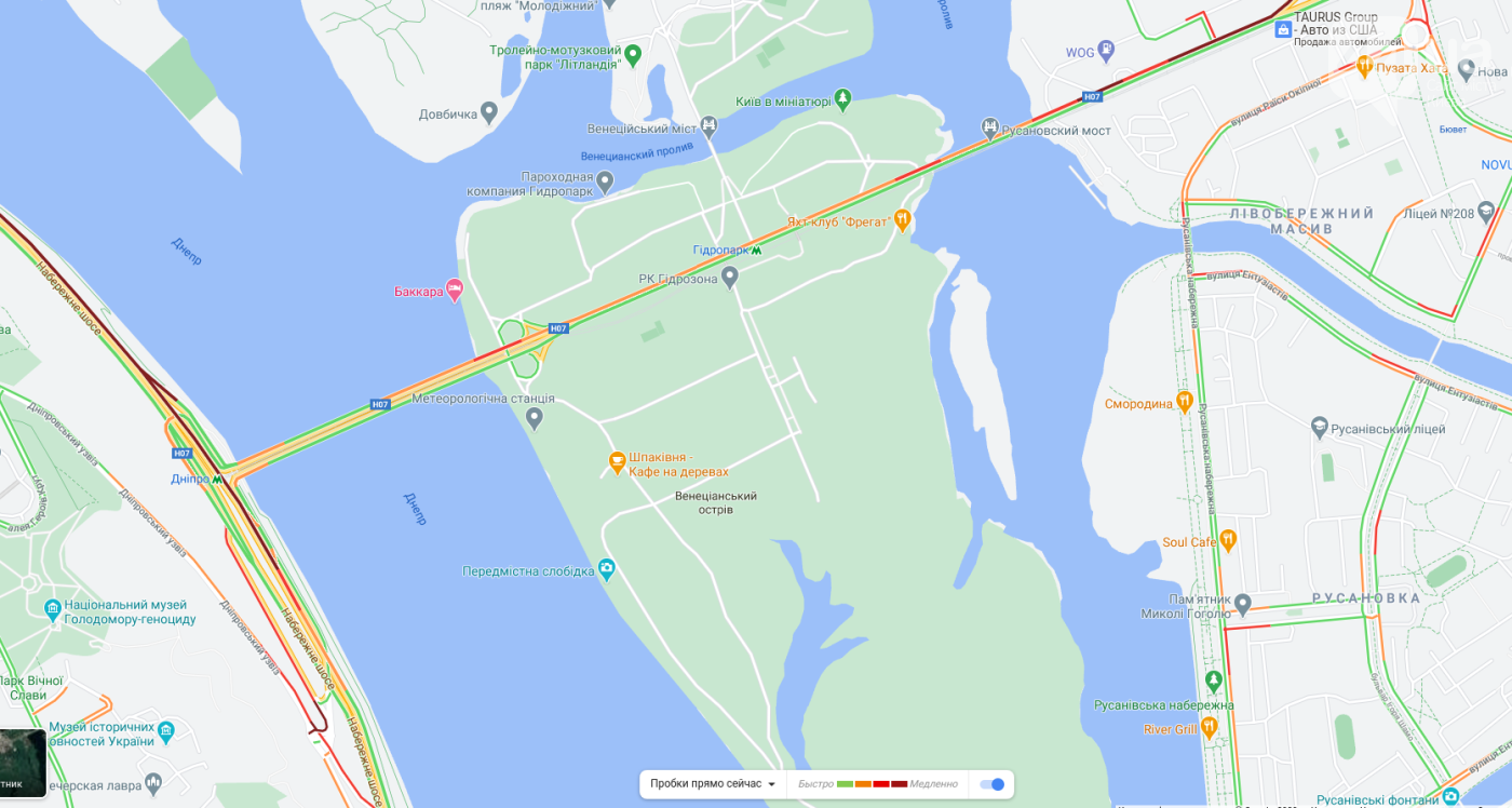 Пробки в Киеве в пятницу, 9 октября. Список и карта самых загруженных дорог , фото-5