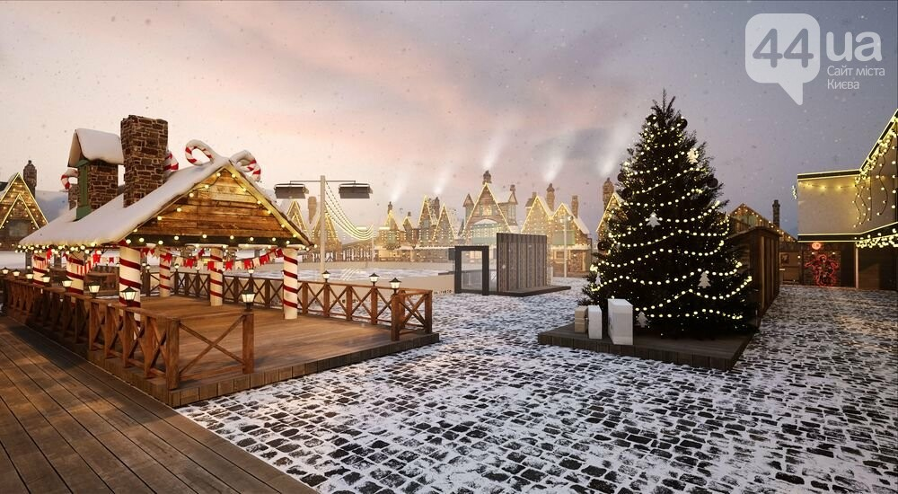 В столице появится собственный Хогсмид: Osocor Residence совместно с AMAconcert представляют Osocor Winter Village, фото-5