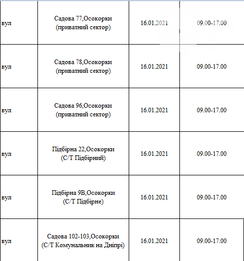 Отключения света в Киеве: график на 12-17 января , фото-8