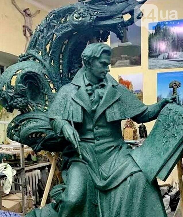 Памятник Тарасу Шевченко, который установят во Флоренции
