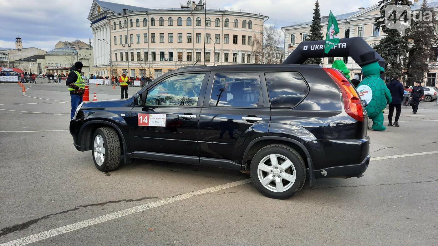 Женское ралли: как на Контрактовой площади в Киеве гонки устраивали, - ФОТО, фото-8