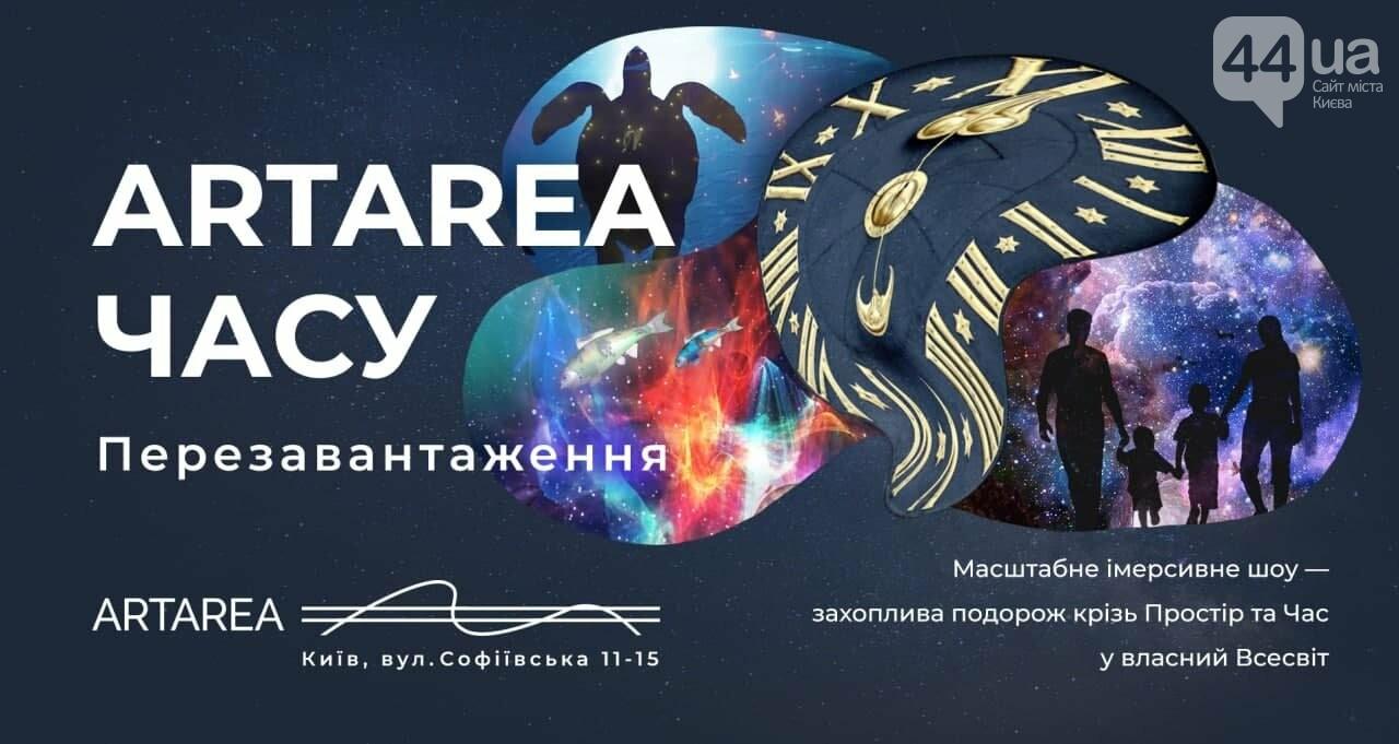 Масштабне імерсивне шоу «ARTAREA ЧАСУ. Перезавантаження», Велика зала Digital Gallery +, фото-1